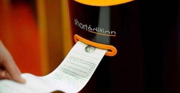Fransa'ya 'hikâye dağıtma makineleri' yerleştirildi
