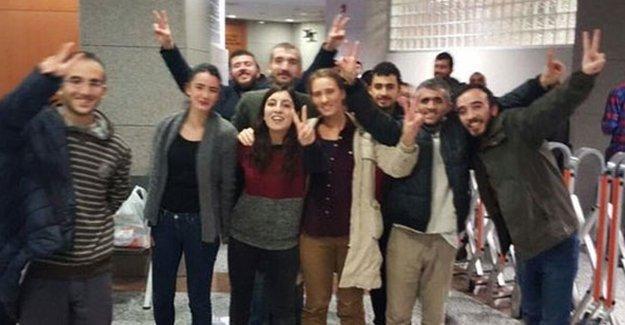 Gözaltına alınan ESP ve SGDF'liler serbest bırakıldı