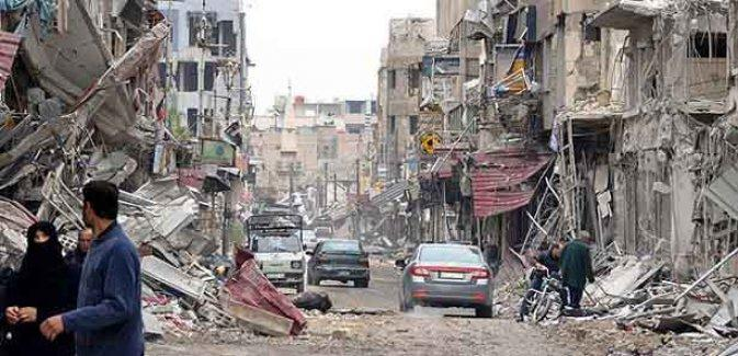 Humus'ta patlama: En az 30 kişi hayatını kaybetti