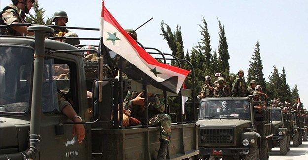 Suriye ordusu IŞİD'e karşı ilerlemeyi sürdürüyor: Mahin de kurtarıldı