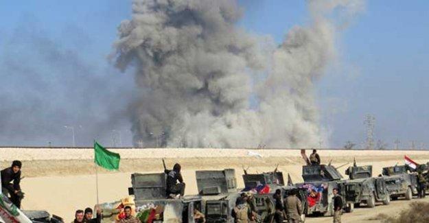 Irak ordusundan Ramadi'de IŞİD'e ağır darbe