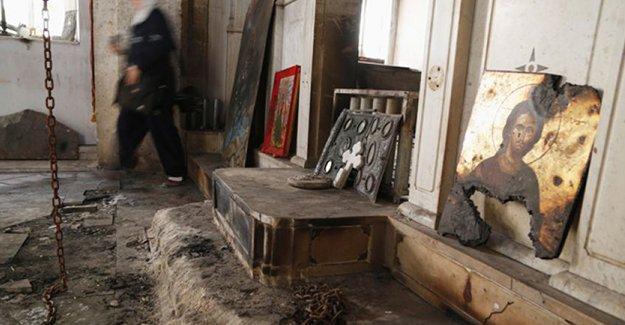 IŞİD, Suriye'de 16 kiliseyi yok etti
