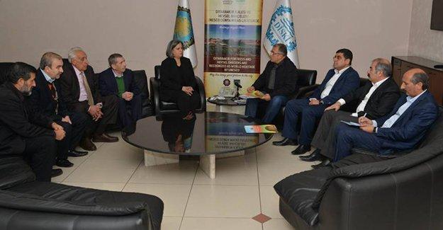 Kırklar Meclisi'ni kabul eden Kışanak'tan diyalog çağrısı