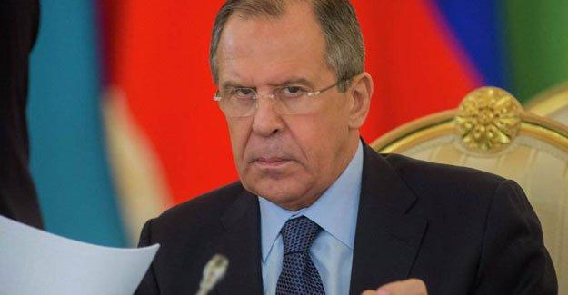 Lavrov: Türkiye-Suriye sınırı derhal kapatılmalı
