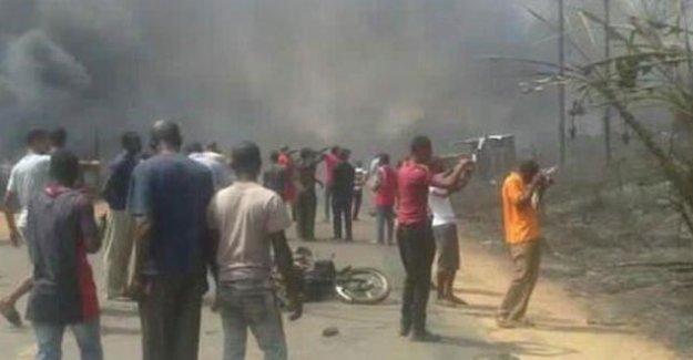 Nijerya'da gaz tankeri patladı: En az 100 ölü