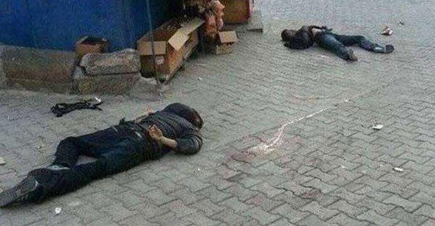 Polisin gençleri infaz ettiği iddia edildi