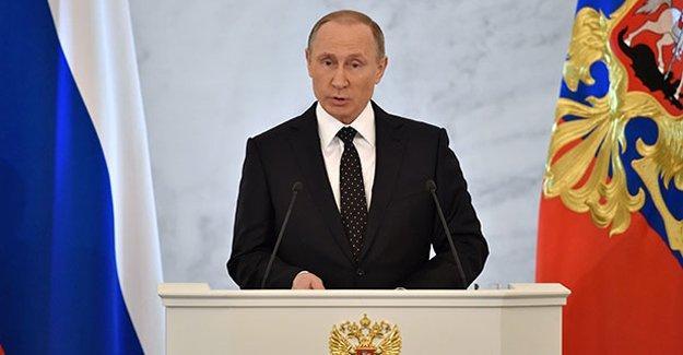 Putin: Teröristlerin maddi kaynakları kurutulmalı