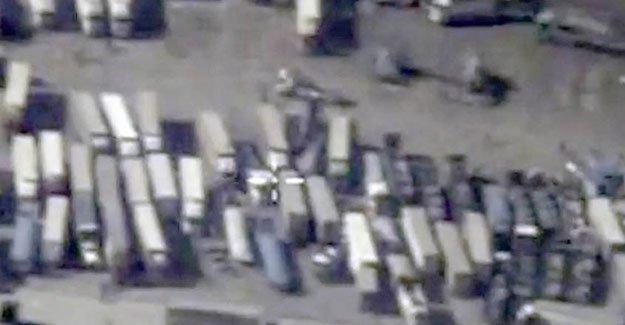 Rusya: IŞİD'e ait 1200 petrol tankerini imha ettik