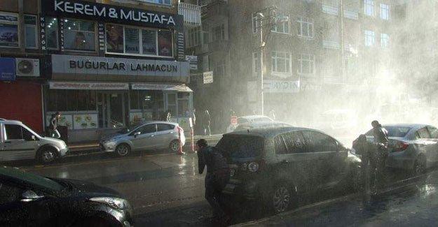 Sur'daki sokağa çıkma yasağı protestosuna müdahale