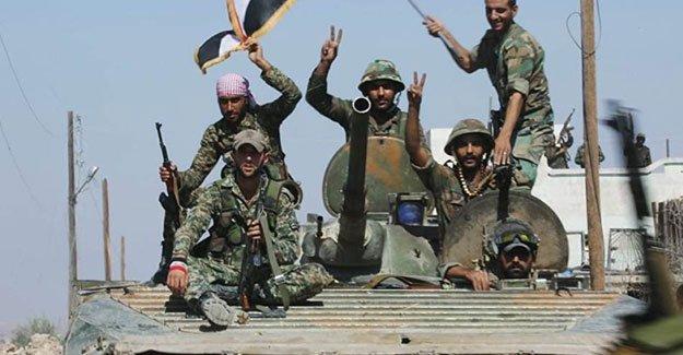 Suriye ordusu, Han Tuman'ı IŞİD'den aldı