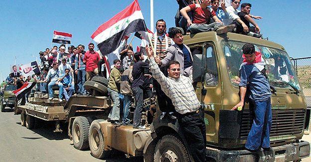Suriye ordusu Marj el Sultan hava üssünü geri aldı