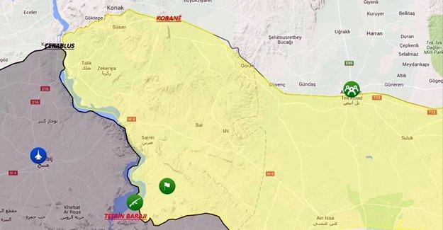 Teşrin barajı IŞİD'den alındı