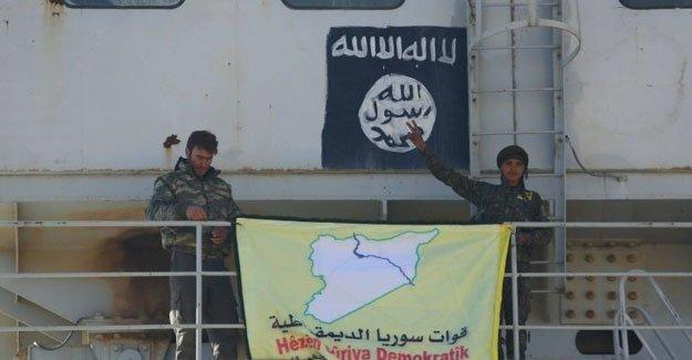 Teşrin, Demokratik Suriye Güçleri'nin kontrolünde