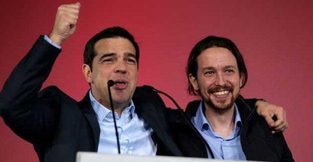 Tsipras'tan Podemos'a tebrik mesajı