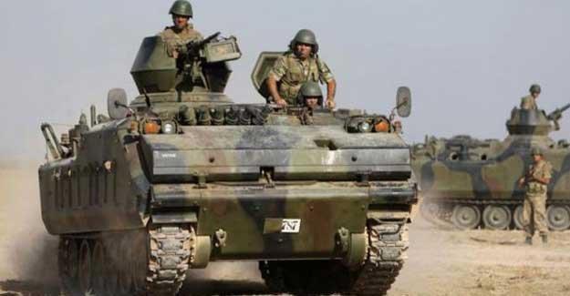 Türk askeri, tanklar eşliğinde Irak Kürdistan Bölgesi'ne geçti