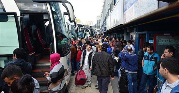 Yılbaşı için 4 bin 500 ek otobüs seferi konuldu