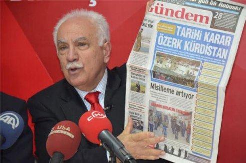 Yüzde 0.3 oy alan Vatan Partisi'nden Perinçek: HDP derhal kapatılmalı!