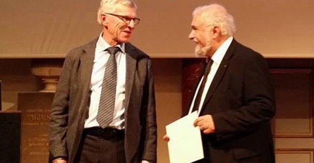 Zarakolu, Lauritzen Barış Ödülü'nü aldı