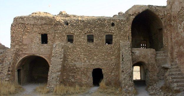 1400 yıllık Dair Mar Elia manastırı IŞİD tarafından yok edildi