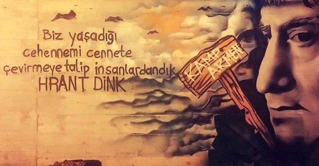 19 Ocak'ta Hrant Dink'in düştüğü kaldırıma randevu