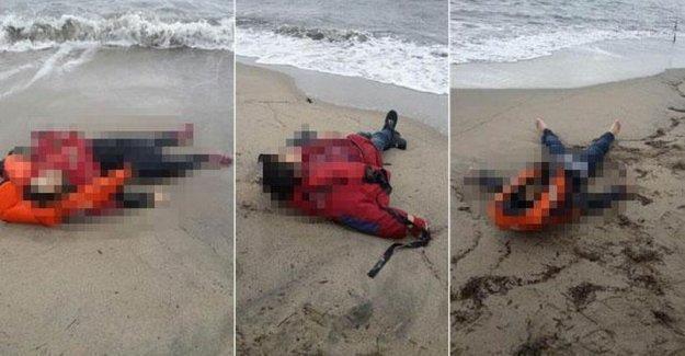 Ayvalık'ta sahile mültecilerin cansız bedenleri vurdu