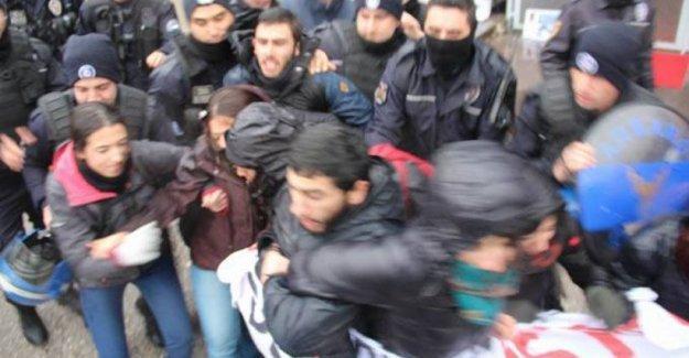BM temsilciliği önündeki protesto eyleminde gözaltı