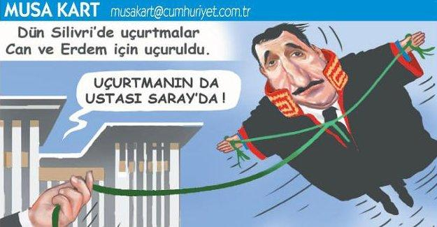 Cumhuriyet çizeri Musa Kart'a 301 soruşturması