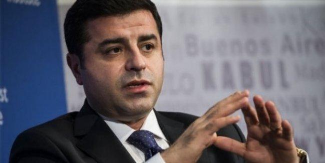 Demirtaş: Biz olmazsak Türkiye felakete gider