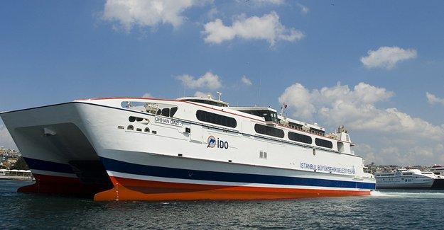 Deniz otobüs seferleri iptal edildi