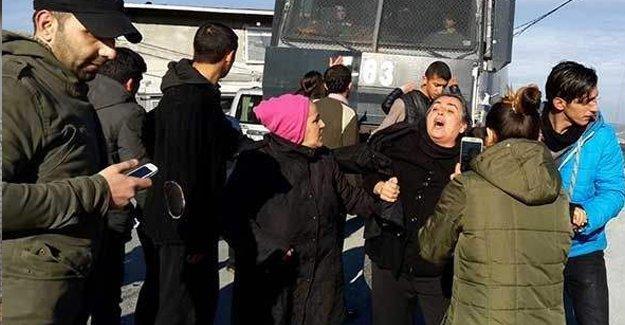 Dilek Doğan'ın ailesine polis saldırdı
