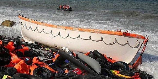 Ege'de mülteci faciası: Biri bebek, 7 ölü