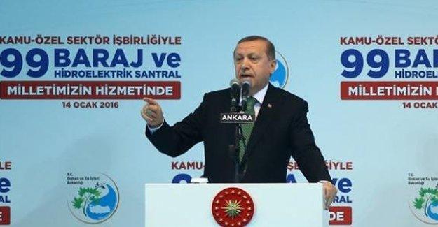 Erdoğan: Biz daha çevreciyiz; onlarınki 'green pis' bizimki tam manasıyla yeşil