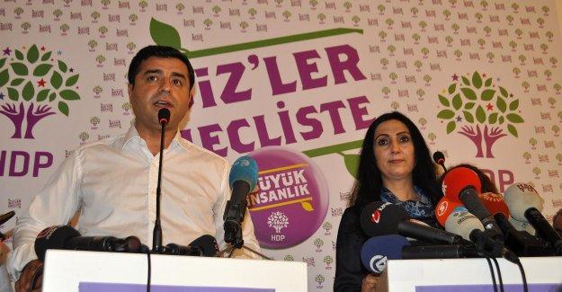 Demirtaş HDP kongresinde konuştu: Devleti ele geçirdiniz vicdansızlar