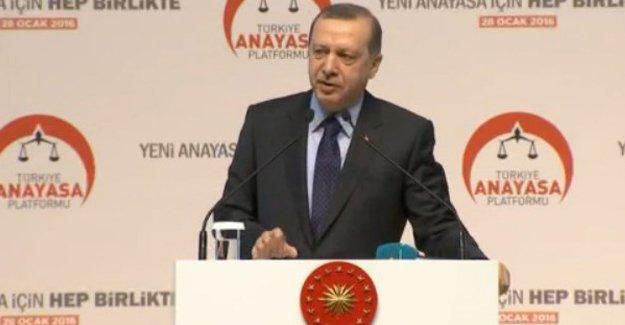 Erdoğan: Bölgedeki vatandaşlar kaçmadı yer değiştirdi