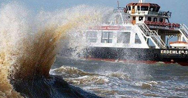 Gökçeada-Kabatepe feribot seferleri iptal oldu