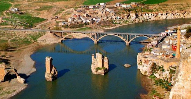 Hasankeyf, Avrupa'nın 'en tehlikede' olan 7 kültür mirasından biri