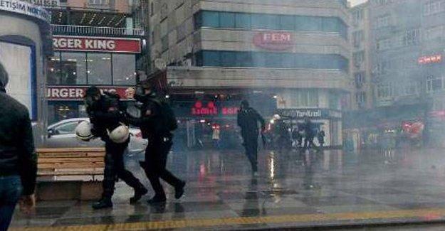 HDP/HDK eylemine polis saldırısı