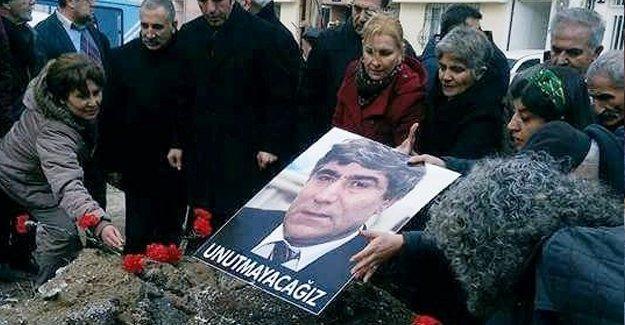 Hrant Dink memleketi Malatya'da da anıldı