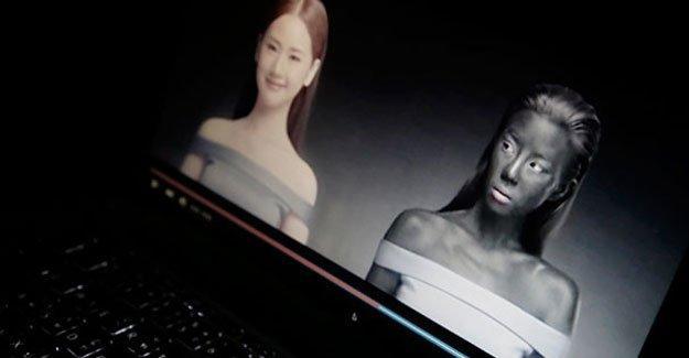 Irkçı reklam: Beyaz olmak kazandırır