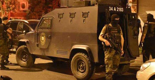 İstanbul'da 8 ilçeye eş zamanlı operasyon