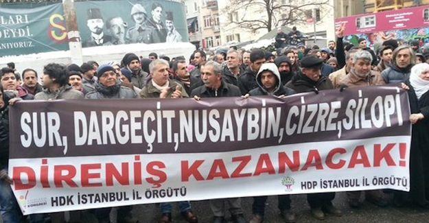 İstanbul'da polis saldırısı: 13 gözaltı