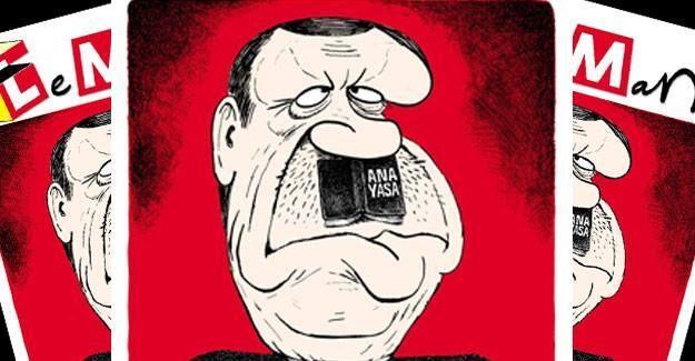 LeMan'dan Erdoğanlı Hitler kapağı
