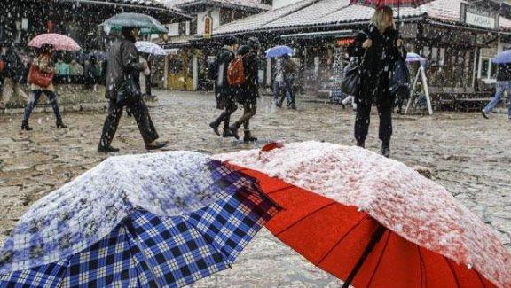 Meteoroloji'den kar ve sağanak yağmur uyarısı