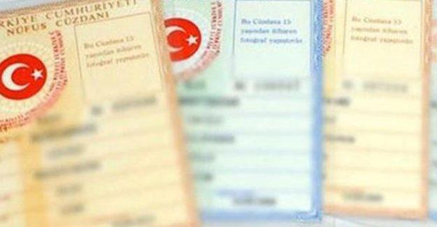 Nüfus cüzdanını kaybetmenin cezası kaldırıldı