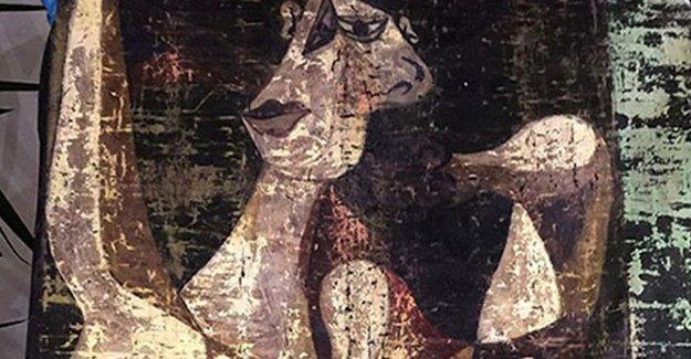 Picasso'nun tablosu İstanbul'da bulundu
