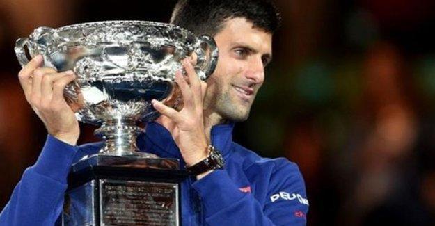 Sezonun ilk Grand Slam'i Djokovic'in