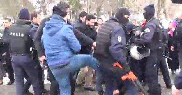 Siirt'e polisten bir gence linç girişimi