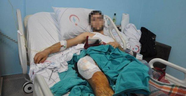 Silopi'de özel hareket polislerinin vurduğu çocuğa, hastanede de askerler işkence yaptı!