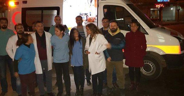 Sağlıkçıların Cizre'ye girişi yine engellendi