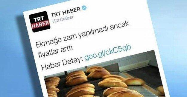 TRT Haber, alay konusu olan tweet'ini sildi